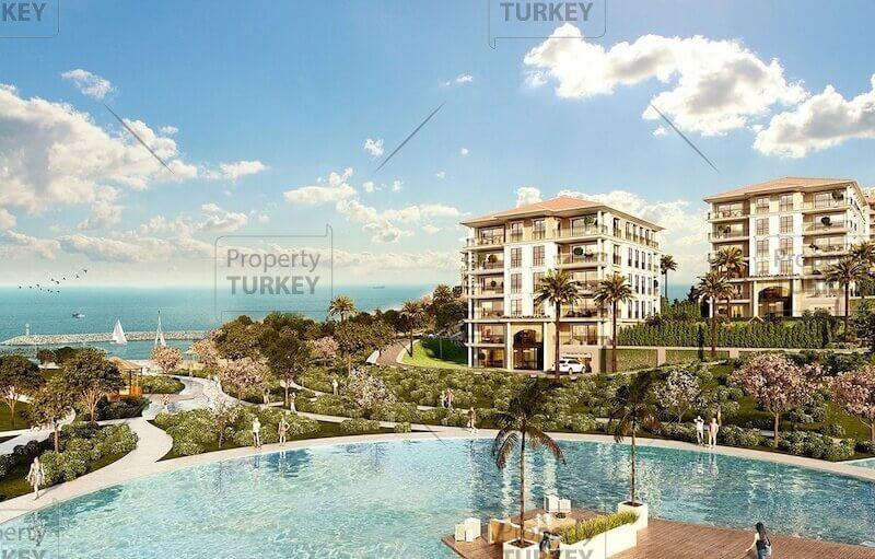 Beylikduzy sea view apartments for sale