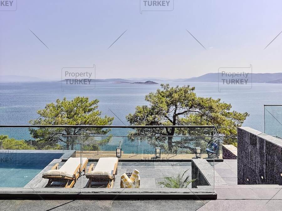 Beachfront property in Bodrum for sale, seafront - Property Turkey