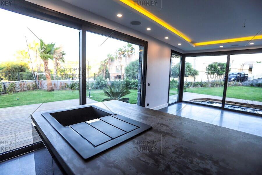 Villas front look
