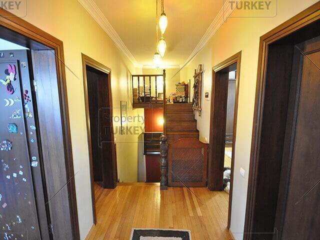 Stairway and corridor