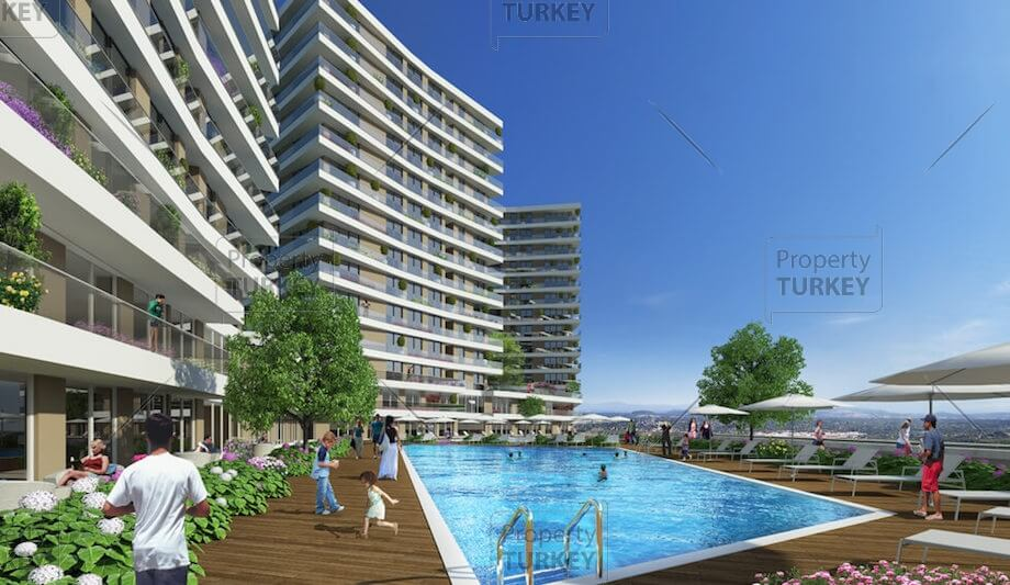 Apartments in Bahecesehir for sale