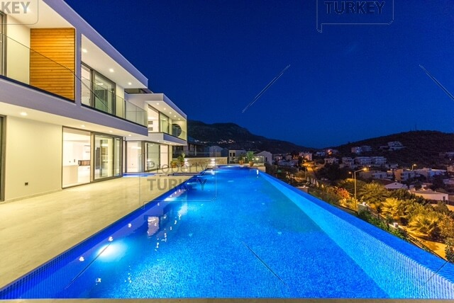 Seaview villa for sale in Kalkan