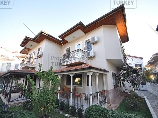 Seaview house for sale in Fethiye