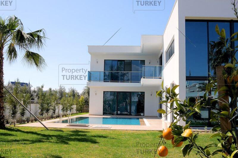 Family residence for sale in belek