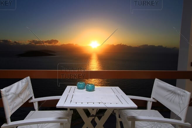 Amazing sunset in Yalikavak