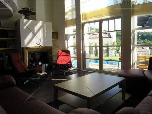 atrium in living area