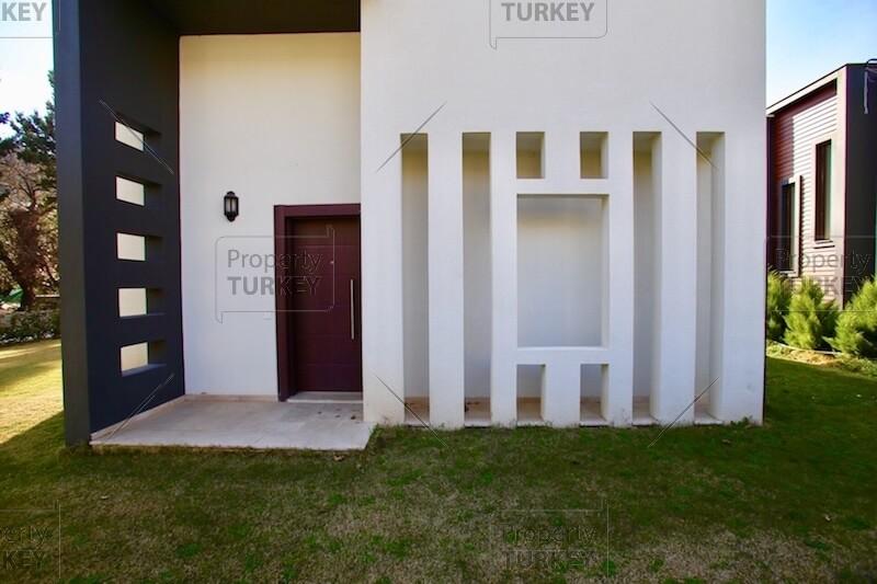 Villas front view