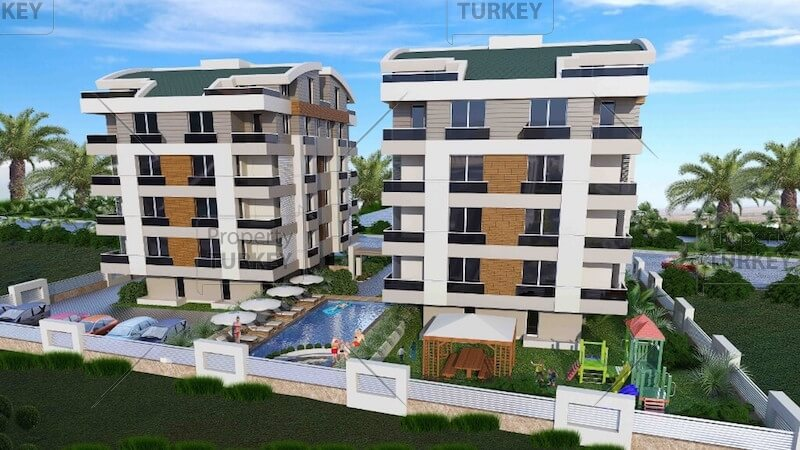 Apartments for sale in Hurma Konyaalti