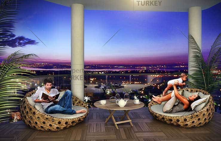 Istanbul apartment with amazing view