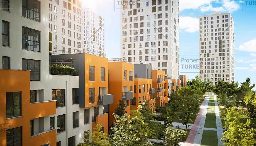 Istanbul modern residences for sale
