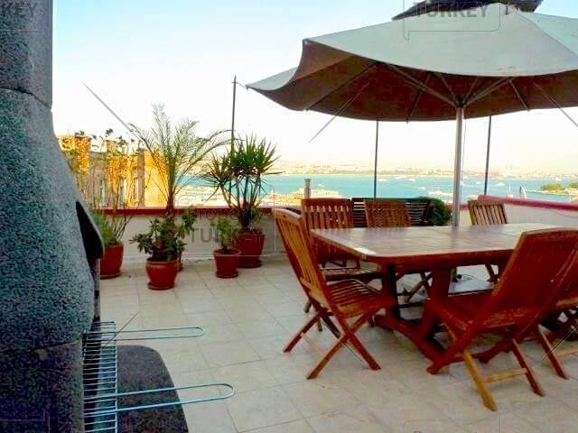 Stunning Bosporus view apartment in Beyoglu Istanbul