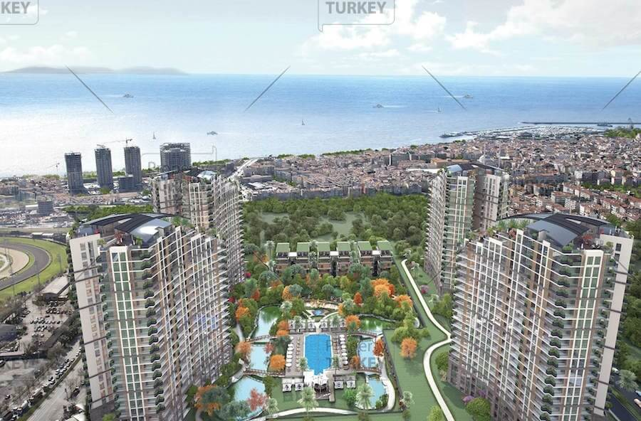 Istanbul complex of apartments