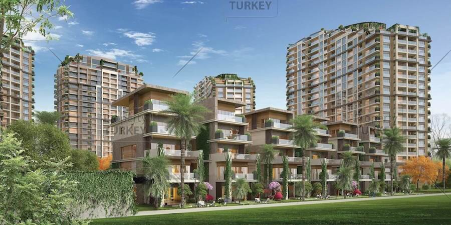 Central park apartments in prestigious atakoy sea view for Apartments by central park