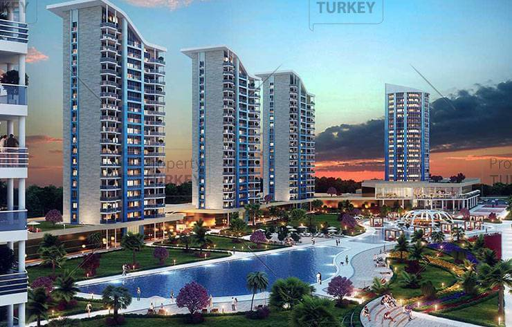 Luxury homes in Istanbul