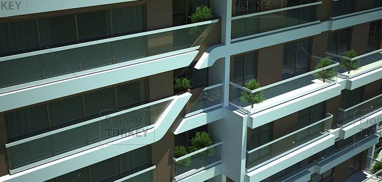 Large balconies