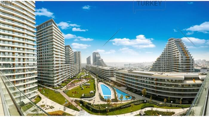 Central Istanbul investment flats