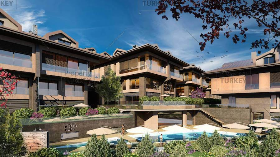 Modern apartments in Tarabya