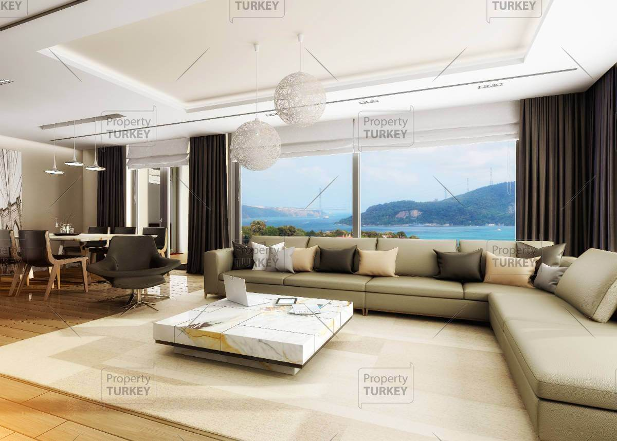 Stunning Tarabya home with panoramic Bosporus view