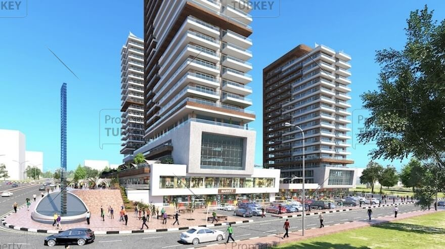 Luxury apartments for sale in Bagcilar Istanbul
