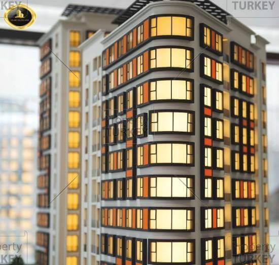Tower in Sisli Istanbul