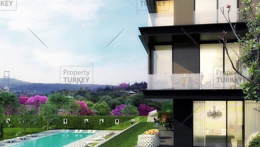 Istanbul Bosphorus views residences for sale