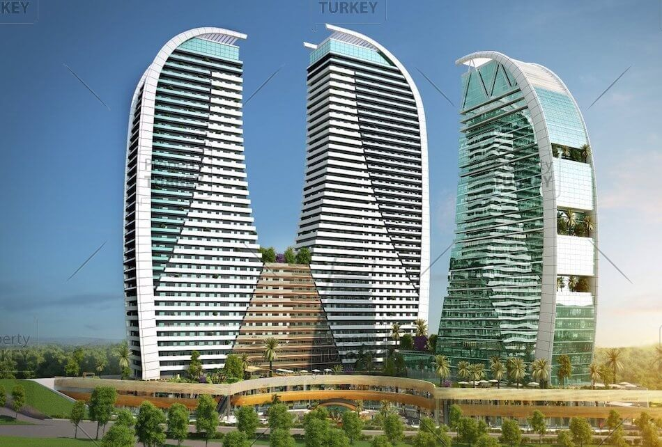 Istanbul contemporary apartments for sale