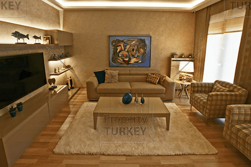 Spacious and furnished lounge