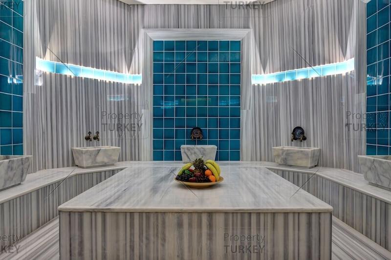Complex turkish bath