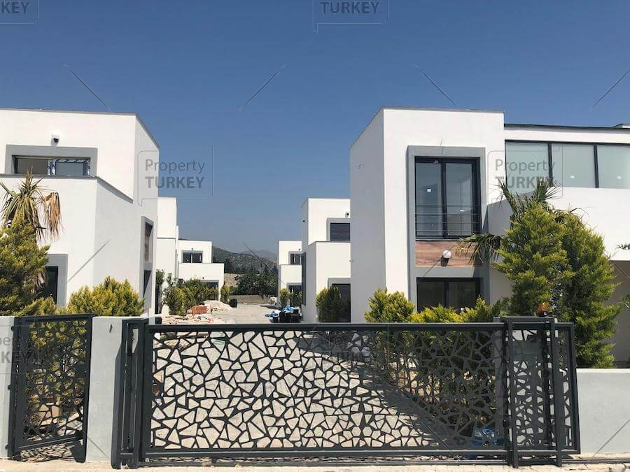 Gated villa