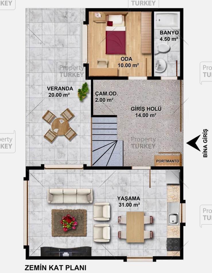 Ground floor site plans