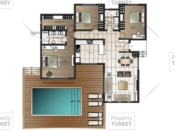 Villas site plans