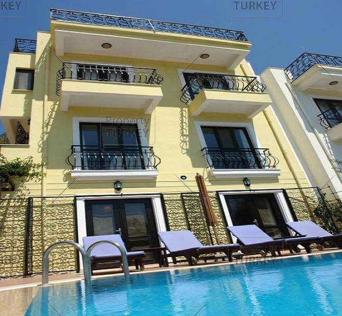 Harbor House Pool: Villa In Centre Close To Kalkan Harbour For Sale