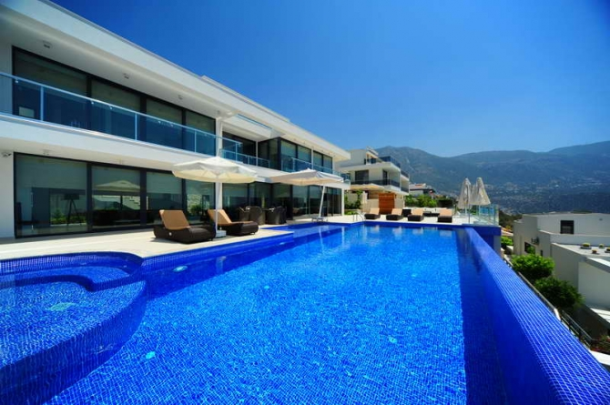 Private pool Kalkan villa for sale