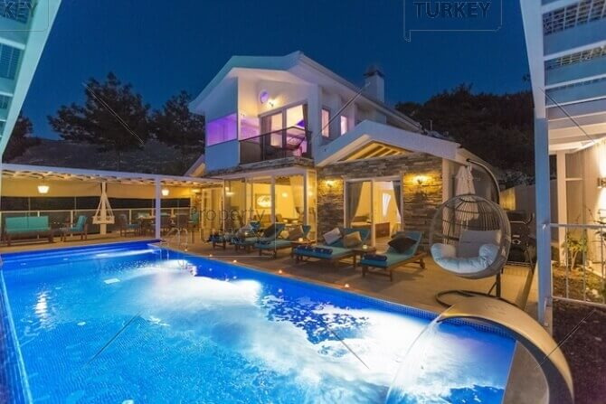 Furnished villa in Kalkan for sale