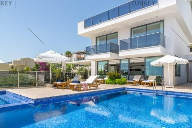 Family villa for sale in Kalkan