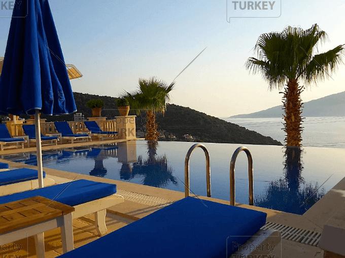 Seaviews and pool