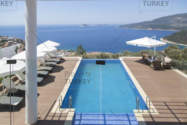 Kalkan Ortaalan villa for sale perfect sea view