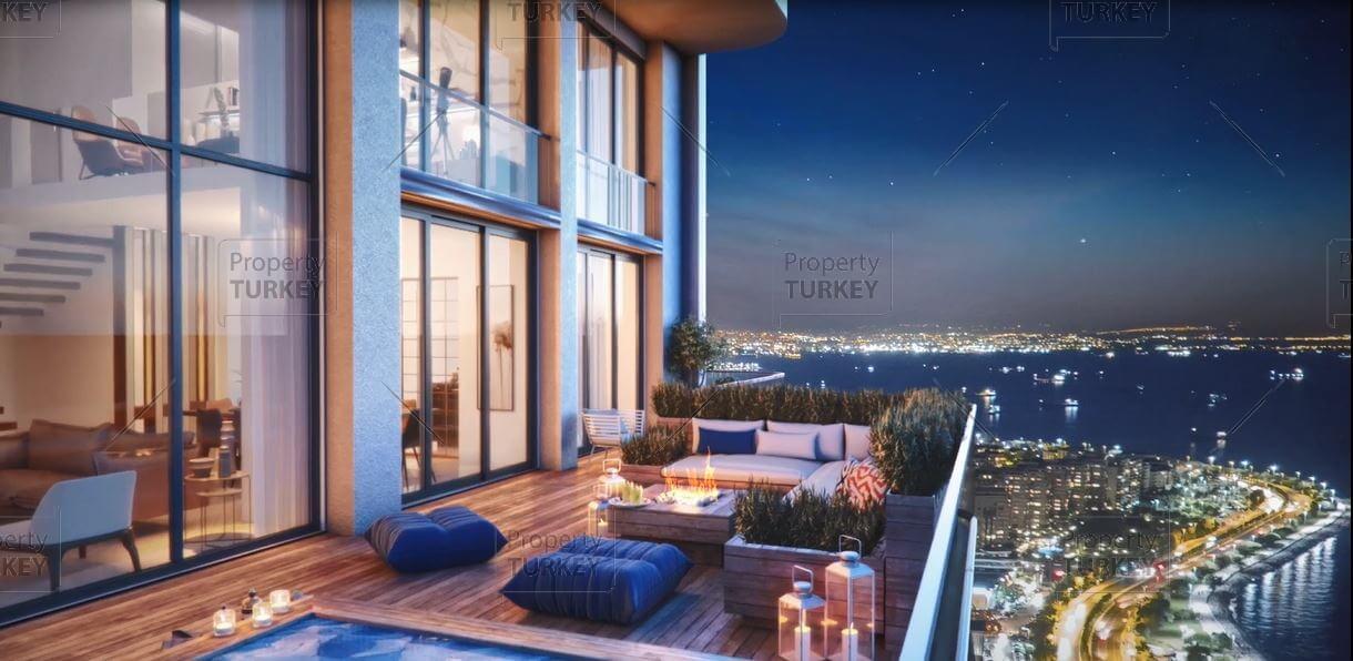 Residences balcony