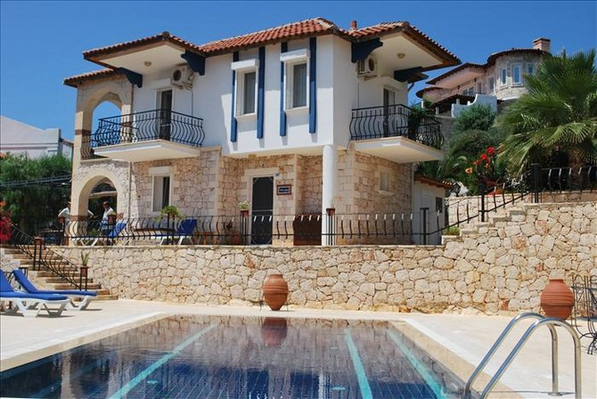 Kas villa with pool