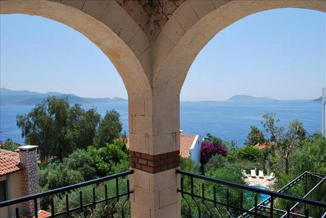 Sea views in Kas