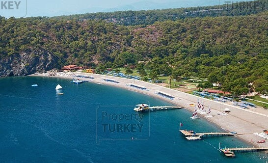 Beach in Kemer Antalya