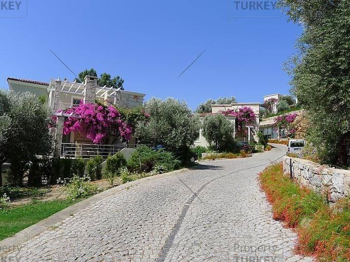 Villas surroundings