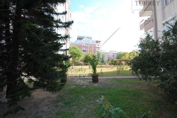 External communal garden