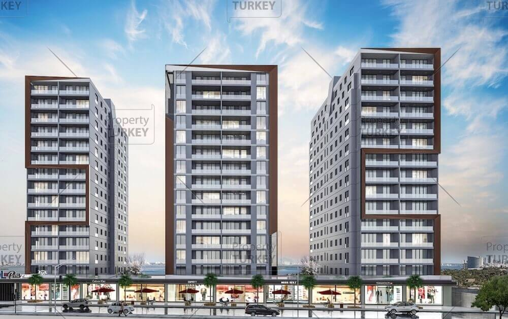 Apartments with lake panorama for sale in in Istanbul