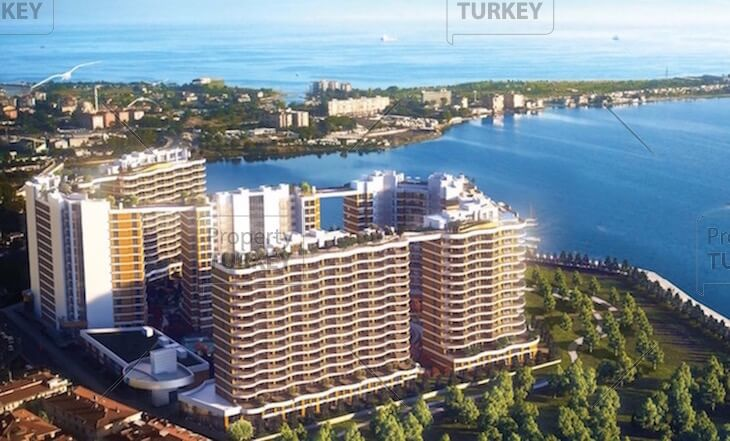 Kucukcekmece luxury apartments for sale