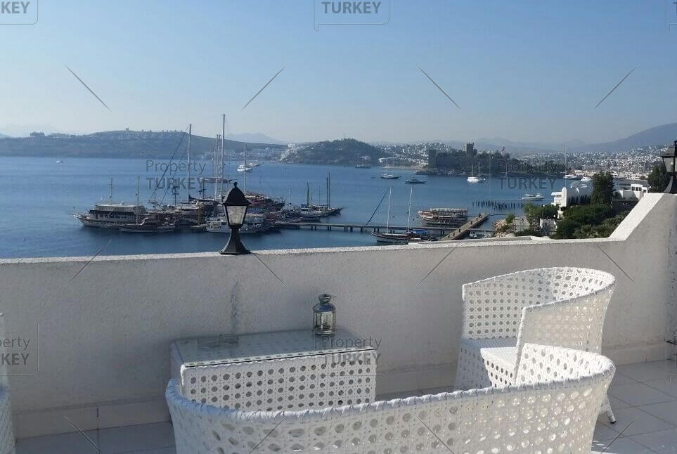 Bodrum luxury residence for sale with sea views