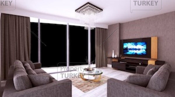 Spacious TV room