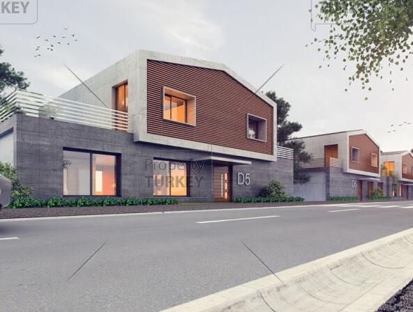 Villas outside look