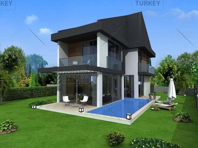 Contemporary Luxury Homes contemporary luxury homes for sale in fethiye town - property turkey
