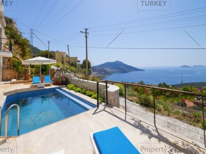 Swimming pool with views